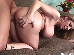 MILF Comme ci Sarah Jay Soft Massive Boobs Fucked