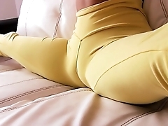 Most Amazing Cameltoe Latina! Chunky Ass! Perfect Natural Tits!