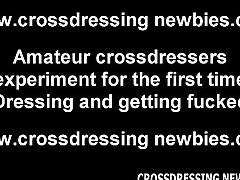 I always wanted to get fucked while crossdressing