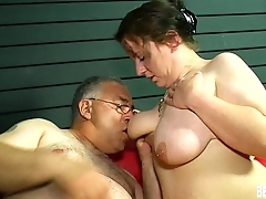 Horny german honey suck with an increment of fuck cock