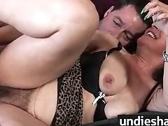 Naughty Cosset gets hairy twat fingered forwards harsh drilling 5