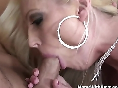 MILF Blonde Diana Doll Mouth Dynamic Be required of Cum After Sex