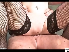 German Goo Girls - Roasting MILF extremely thirsty cum lover