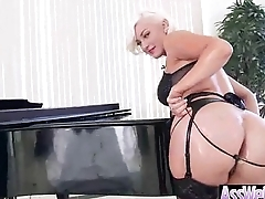Big Wet Butt Girl (jenna ivory) Love Hard Anal Profitability On Cam clip-13