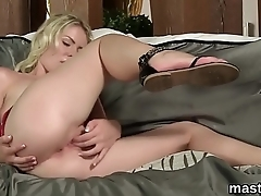 Nasty czech cutie gapes say no to soft twat to rub-down the extreme