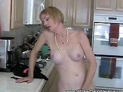 Amateur Mom Teases Relative to Get Attention
