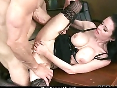 HOT horny executive hottie massaged and fucked everlasting in place 1