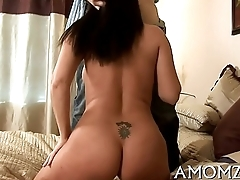 Horny older is crazy about load of shit
