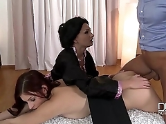 Unclothed Sushi Blowjobs and Anal Sex