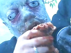 teen fucked by zombie