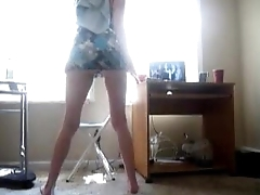 Amateur Spoils Twerking In Skirt - spankbang.org