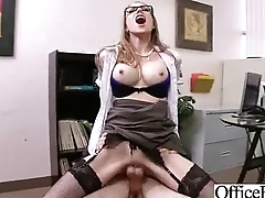 Sex Tape In Office With Chubby Boobs Girl (shawna lenee) mov-29