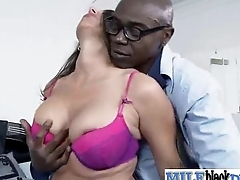 Copulation Between Monster Black Cock Stud And Nasty Horny Milf (kaylynn) mov-16