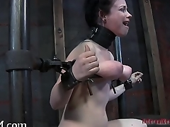 Extreme torment excites chick