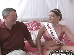 Dorky 4 get a look-see at Robbie pegged by big tits pornstar