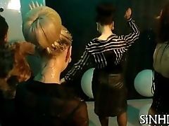 Bewitching group sex