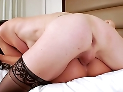 Mandy Mitchell gets fuck by a shemale