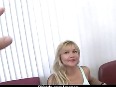 Amateur lets the pussy talk 6