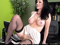Office slut gets a acquiescent fuck to release stress 5