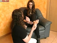 Interview to Anna - Low Licking and Trample Boots