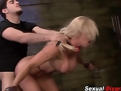 Milf slut bdsm railed