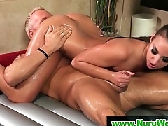 Nuru Slippery Massage Sex Video 26