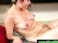 Nuru Slippery Massage Sex Pic 13