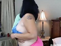 Busty BBW Student Fucks their way Driving Instructor