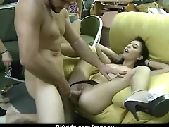 Amateur girl accepts cash be useful to carnal knowledge from stranger 4