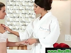 Nuru Massage Slippery Handjob And Hardcore Fuck Video 14