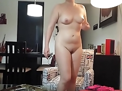 SEXY DEBBIE CAUGHT GETTING NAKED - xHamster.com