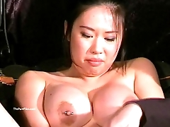 5139896 Busty asian bdsm and needle tortures of Tigerr Juggs in hard 480p