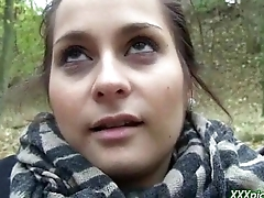 Public Pickups - Outdoor Fucking For Money With Sexy Czech Teen 30
