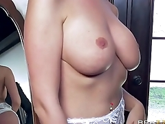 Lexie Lowe gets one last weasel words before the wedding - Camstripgirls.com