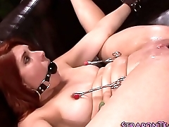 Gnarled clamped slave