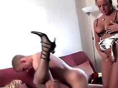 www.pornthey.com - Insane parties with old sluts and young boys